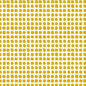 Choppy Checkers Micro Scale Mustard Inverted