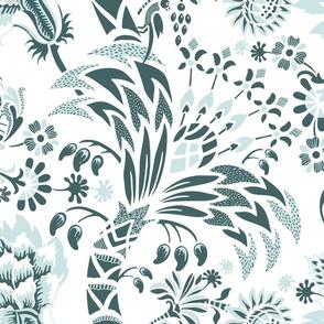 Floral mint&pine (W)50