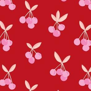 Little Cherry love garden for spring summer nursery design red pink