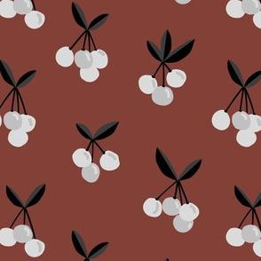 Little Cherry love garden for spring summer nursery design neutral stone red