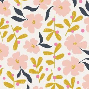 Stella's Garden Floral | Off White