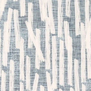 Brushstroke and Distressed Linen in a gray and cream