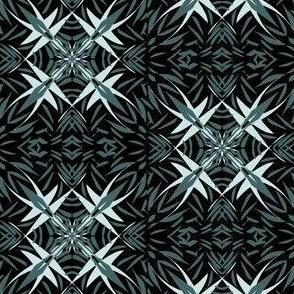 Pine-Mint Prickles on Black
