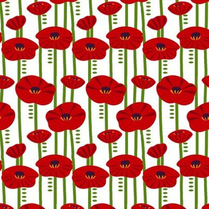 Simplified Poppies 1