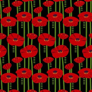 Simplified Poppies 2