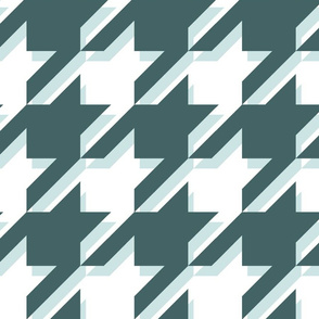Giant houndstooth - pine mint