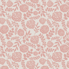 Blush Flower Pattern