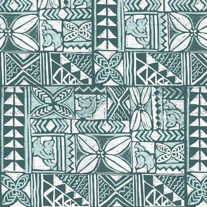 Polynesian Bark Cloth-limited palette
