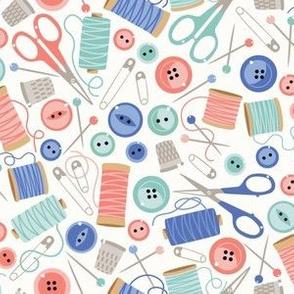 Needlework ditsy