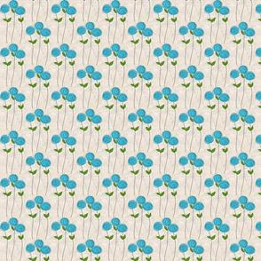 Blue Long Stem Rose