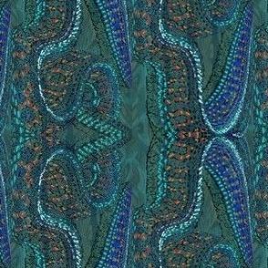 Batik Crane - Isolated Beauty