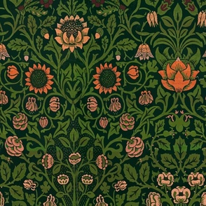 Violet and Columbine by William Morris