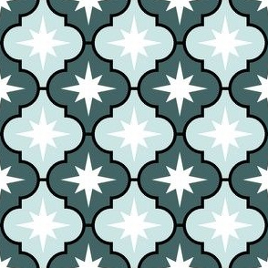 09783427 : crombus star : spoonflower0538