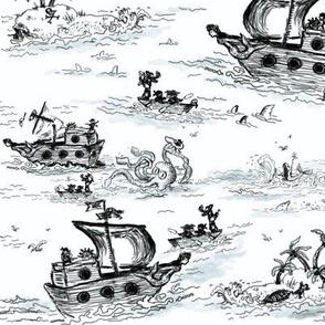 A Pirates Toile - Small