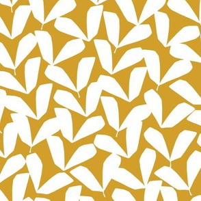 Petite Feuille   Mustard + Cream