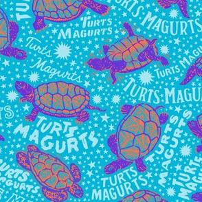 Turts Magurts [Bright Blue]