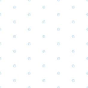 Dots Large - Colored Pencil Blue