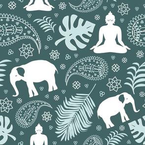 meditation - mint and pine