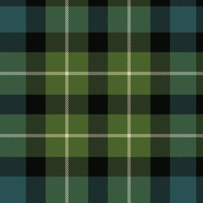 "Graham of Montrose / MacLaggan tartan, 8"" muted"