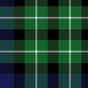 """Graham of Montrose / MacLaggan tartan, 10"""" dark"""