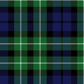 """Graham of Montrose / MacLaggan tartan, 6"""" dark"""