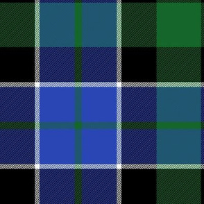 "Graham of Montrose tartan #2, 10"" bright"