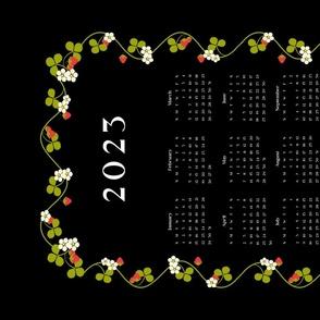 2021 Tea Towel Calendar - French Strawberries