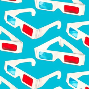 3D Glasses - Teal