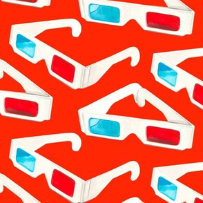 3D Glasses - Red