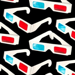 3D Glasses - Black