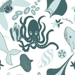 Pine & Mint Ocean Animals