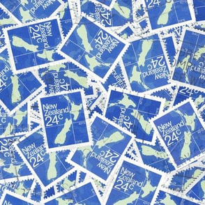 NZ 24c stamps