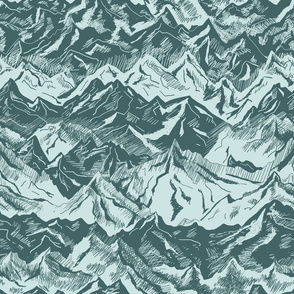Pine and Mint Mountains