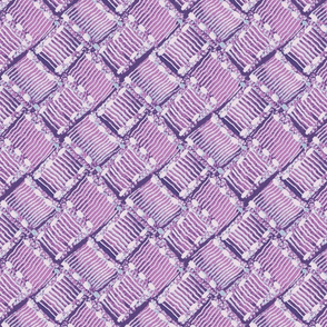 Ribbon weave - purple