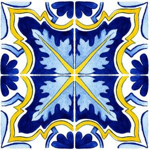 Azulejos Tlie Bright Colored