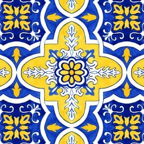 Azulejos Tlie Curtain