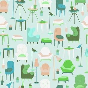 Furniture aqua