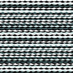 Irregular Waves - Green
