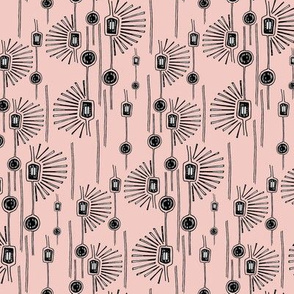 Modern Florals Pale Pink