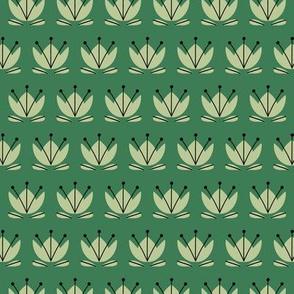 Teacup tulip green