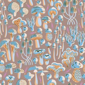 Forest Floor Fungi - Mushroom