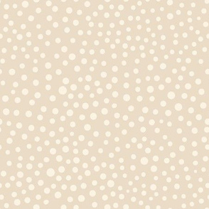 Ditsy Dots Beige
