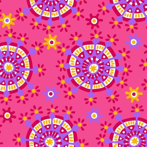 happy colorful dots cw3