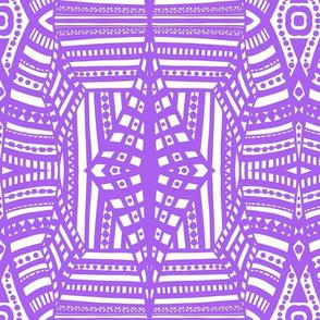 boho brights geometric lace cw1