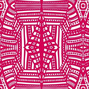 boho brights geometric lace cw5