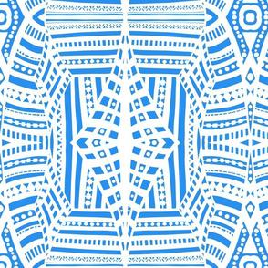 boho brights geometric lace cw4