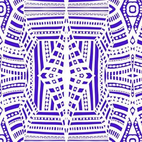 boho brights geometric lace cw3