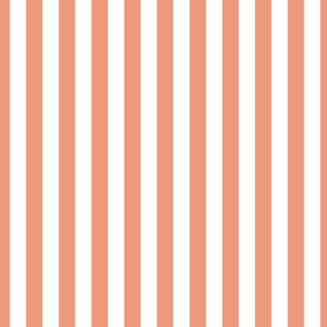 Dusty Pink Stripes, Vertical