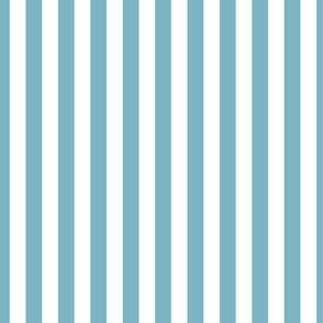 Sky Blue Stripes, Vertical