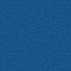 Crosshatch Blue